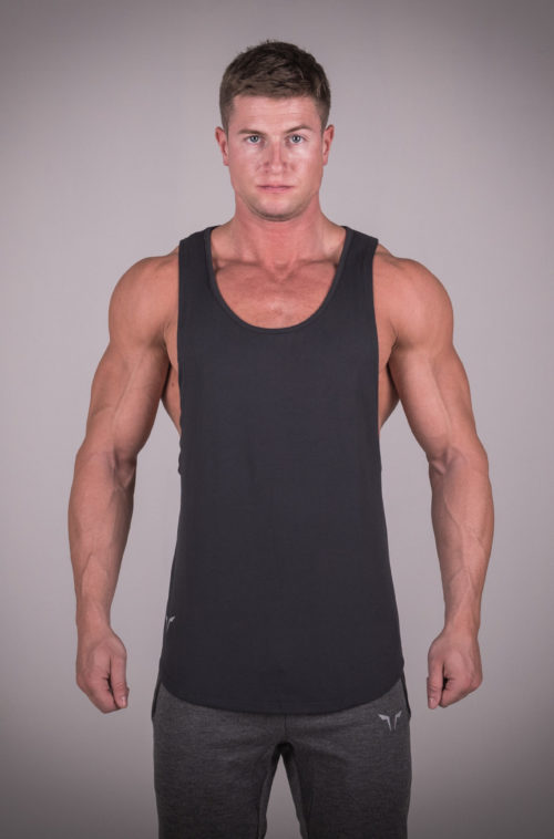 Muscle Stringer Black