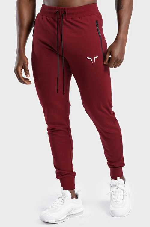 Statement-Classics-Jogger-pants-Red