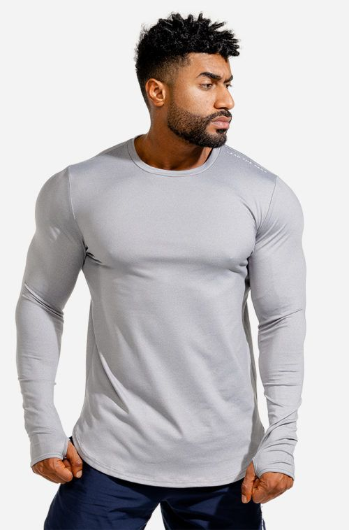 SQUATWOLF-workout-shirts-for-men-statement-muscle-tee-grey-black-gym-wear