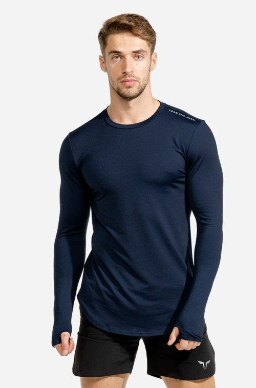 SQUATWOLF-workout-shirts-for-men-statement-muscle-tee-navy-black-gym-wear