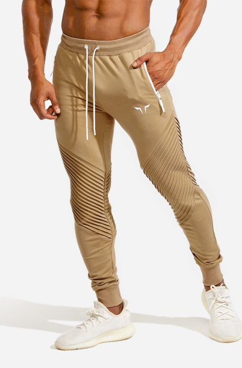 SQUATWOLF-workout-pants-for-men-ribbed-jogger-pants-nude-gym-wear