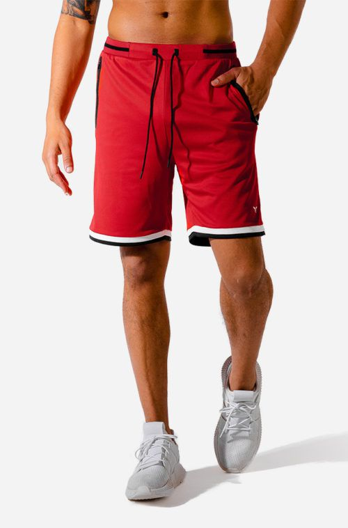 hybrid-basketball-shorts-red