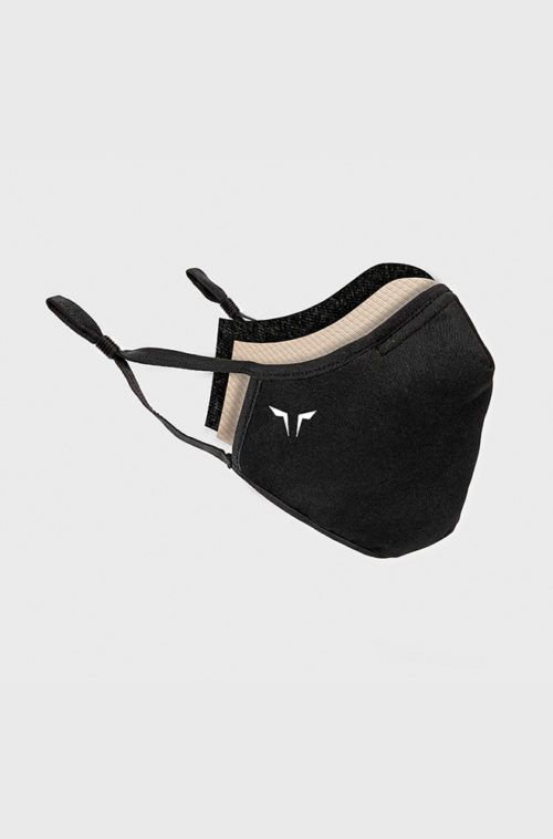 Pack of 2 - Polygiene® ViralOff® 4-Layer Reusable Mask - Black