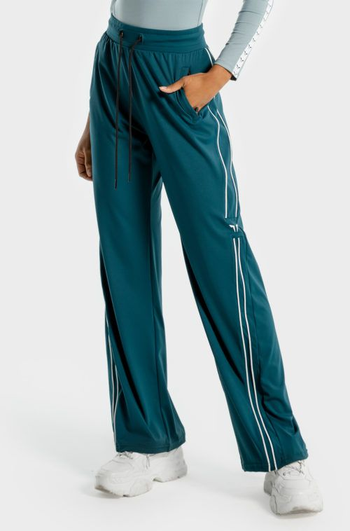 SQUATWOLF-gym-pants-for-women-noor-wide-leg-pants-teal-workout-clothes