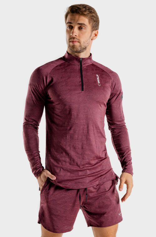 wolf-gym-running-top-burgundy