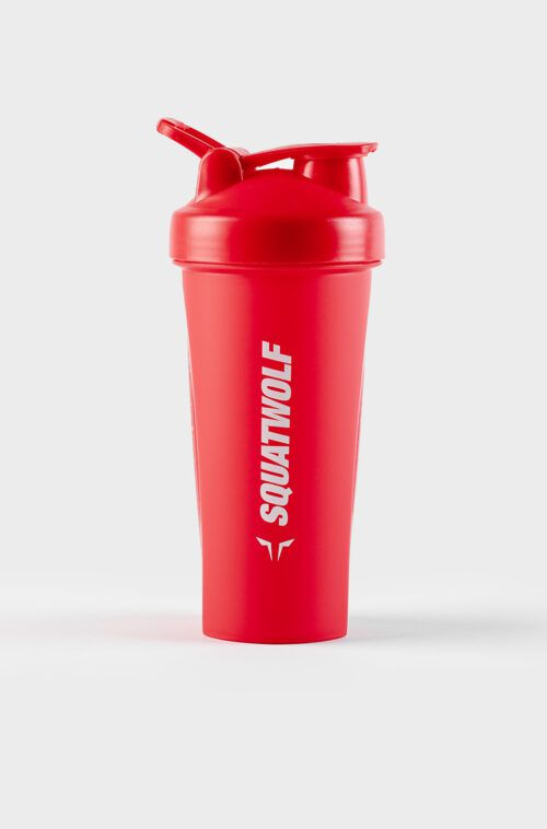 protein shaker red