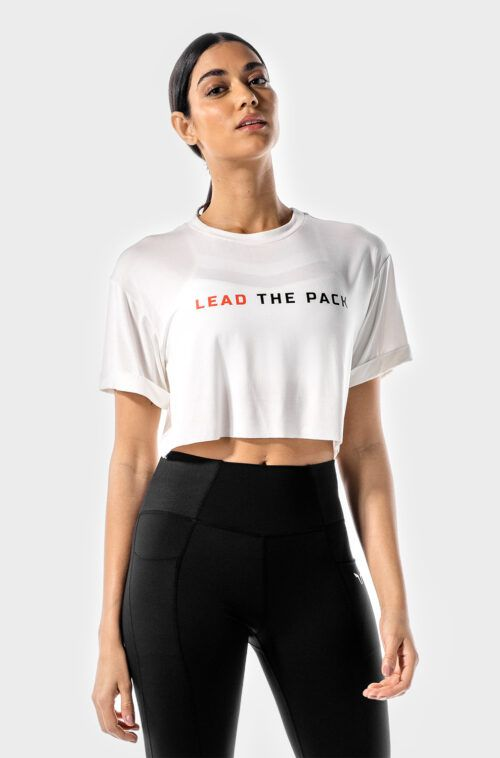 the-pack-crop-tee-white