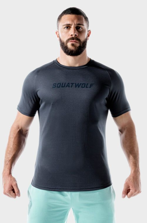 SQUATWOLF-workout-shirts-for-men-lab-360-recycled-mesh-tee-blue-nights-gym-wear
