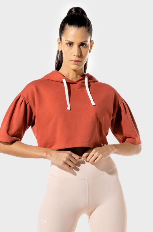 SQUATWOLF-workout-clothes-womens-fitness-crop-hoodie-red-gym-hoodie