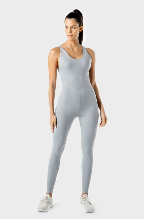 squatwolf-gym-wear-womens-fitness-performance-catsuit-grey-workout-tops
